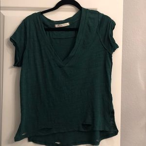 Brand new! Free People V neck Tee